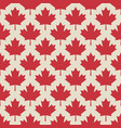 autumn maple leaves symmetrical seamless pattern vector image