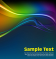 Colorful Waves and Lines Background vector image