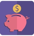 Money box vector image