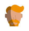 hipster man character icon image vector image