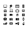 Electronic and accessories icon vector image