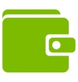 Wallet icon from Business Bicolor Set vector image