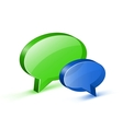Chat or website support concept vector image vector image