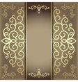 luxury background for the menu and invitation card vector image