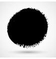 Grunge circle shape vector image