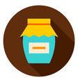 jam circle icon vector image