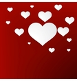 Heart for Valentines Day Background  EPS10 vector image