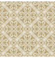 seamless floral spring pattern vector image