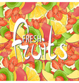 juicy fruits vector image