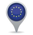 european flag pointer vector image