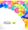 Abstract modern website background design Vector Image