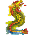 Dragon Rainbow vector image