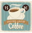 coffee fresh 003 vector image