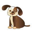 dog pet mascot cute vector image