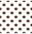 donut with chocolate vector image