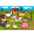 Next farm animals m vector image