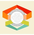 Infographic badges vector image vector image