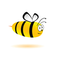 sweet and cute bee vector image