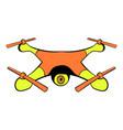 Drone icon icon cartoon vector image