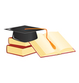 graduation mortar vector image