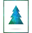 Christmas Tree card design Perfect as vector image