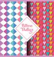 pattern vintage geometric texture background vector image