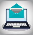 cyber security confidential information message vector image
