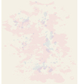 Vintage paper texture with watercolor blots vector image