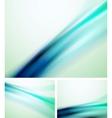 blue line backgrounds vector image