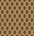 seamless embossed pattern vector image