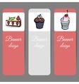 SweetsBanners2 vector image