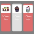 SweetsBanners2 vector image