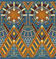 tribal multicolor seamless pattern with vector image