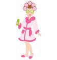 Spa Girl vector image