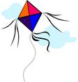 kite vector image