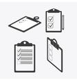 Checklist design flat vector image