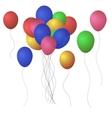 Festive Balloons EPS 10 vector image