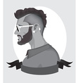 Trendy Hipster Men vector image