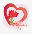 8 march women day eight vector image