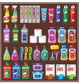 Set of household chemicals vector image vector image