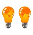 power saving bulbs vector image