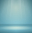 Blue Empty Scene vector image