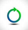 Circle arrow vector image