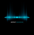abstract sound wave background vector image