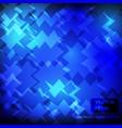 blue dark background pattern design vector image
