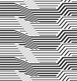 geometric pattern by stripes vector image