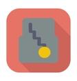Icon automatic gear vector image