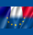 symbol france is eu member vector image