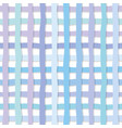 hand drawn plaid seamless pattern background in vector image