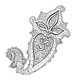 Paisley Ethnic ornament Om Aum Symbol vector image